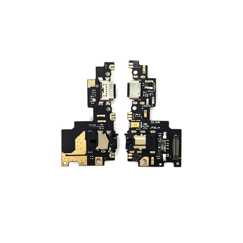 For Xiaomi Mi A1 USB Charger Port Flex Cable Charging Dock Connector PCB Board Ribbon Flex Cable + Headphone Jack Audio Mi 5X
