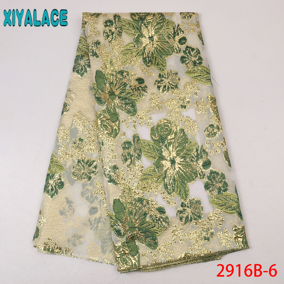 Latest Lace Fabric With Feather,Green Tulle African Lace,African French Brocade Lace For Women Dresses KS2916B-6