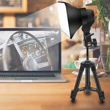 Softbox Kit de luz disparar lámpara Led de relleno de luz estudio cámara de luz iluminación para foto estudio profesional de vídeo