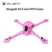 iFlight Morgoth X5 5 inch FPV Racing Frame 214mm Carbon Molded With 6 7mm Bottom Compatible 5inch Propeller for FPV Racing Drone