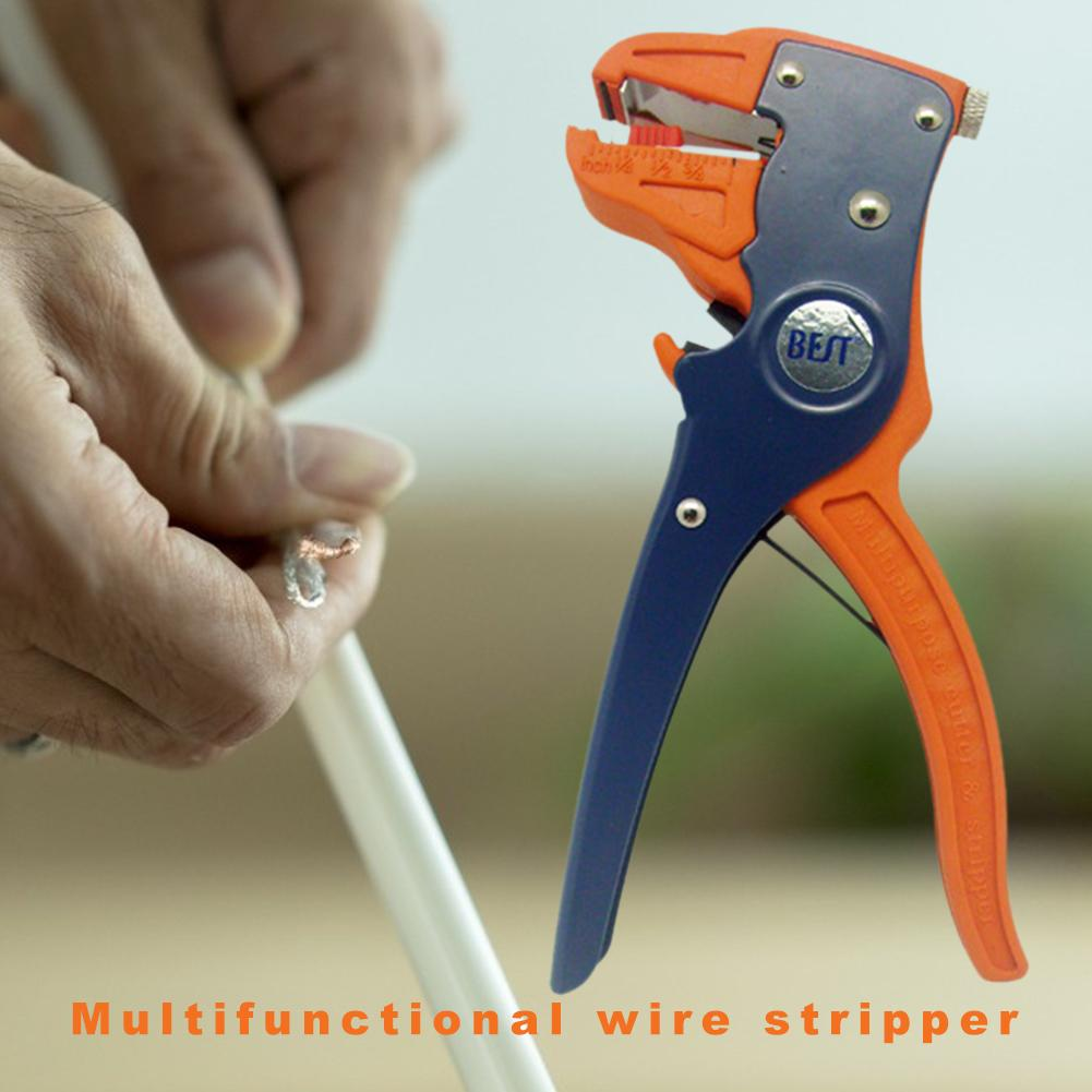 Automatic Stripping Pliers Wire Stripper Electrician Cable Cutter Support Dropshipping