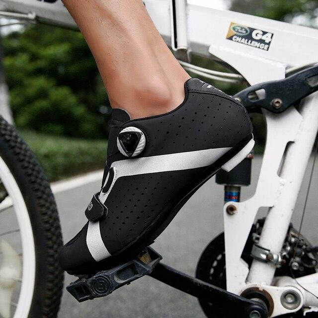 Homens ciclismo sapatos de velocidade auto-bloqueio sapatos mtb homem de bicicleta de estrada sapatos de corrida de tênis triathlon ciclismo mtb 2020 4