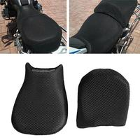 Yiwa 2pcs For BMW R1200GS Motorcycle Seat Cover Mesh Breathable Insulated Seat Cushion Heat Insulation Cushion Cover