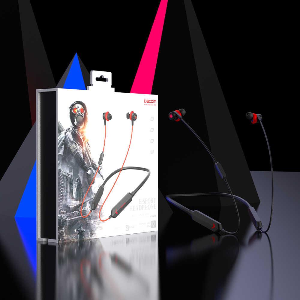 デイコム GH02 bluetooth ヘッドセットゲーマー aptx ll スーパー低音ワイヤレスイヤホンヘッドホンマイク rgb led ライト携帯電話