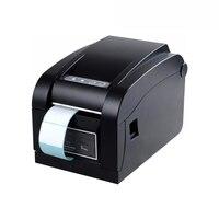 Label Printer 80mm Direct Thermal Barcode Printer Sticker Label Printer For Fast Food Restaurant DTP350