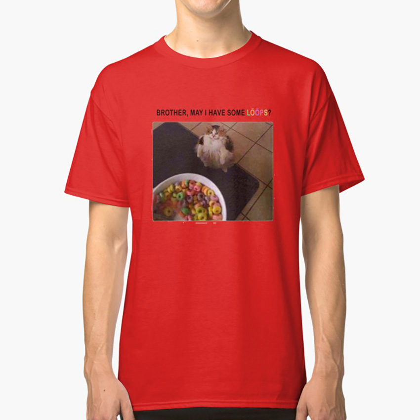 Brother May i Have Some LOOP T Shirt Funny Meme Cat