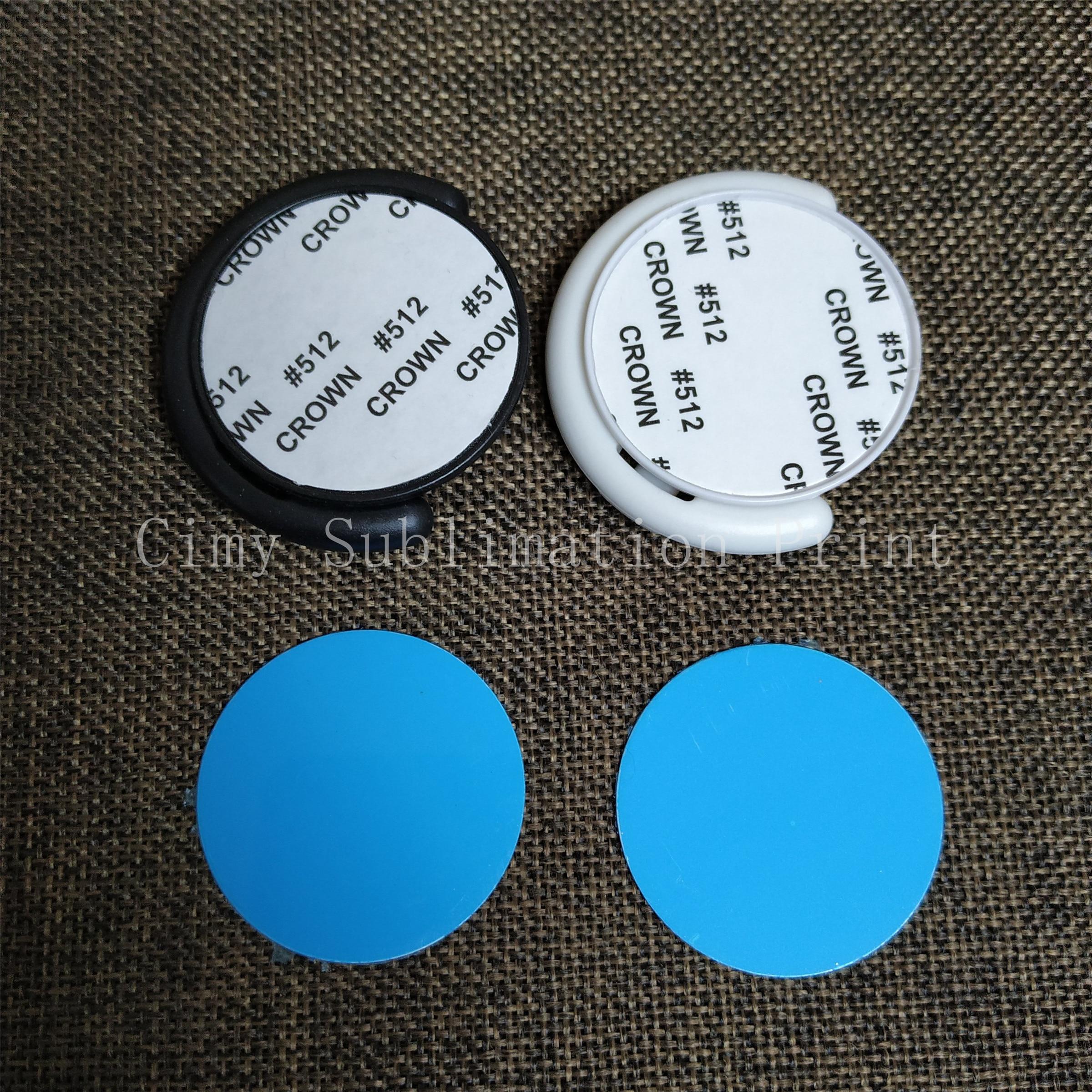 100 יח'\חבילה סובלימציה ריק נייד טלפון פלסטיק מחזיק עם מתכת הכנס חום trasnfer הדפסה טלפון מקרה מחזיק מעמד