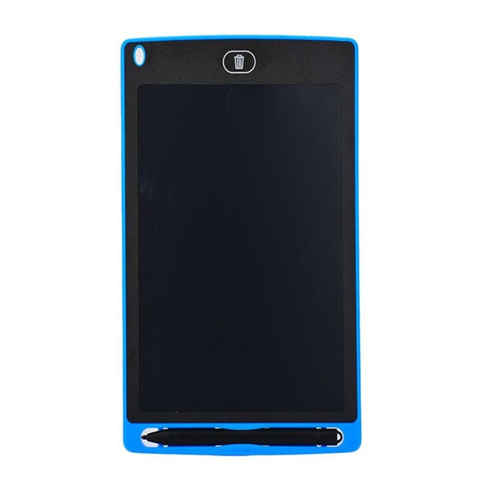 Планшет для рисования 8,5 дюймов блокнот цифровой lcd доска для рисования почерк доска объявлений для образования бизнеса - Цвет: Синий