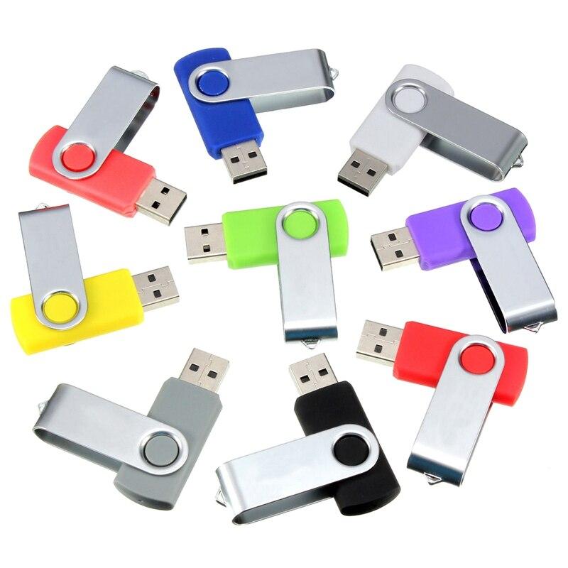 2GB Swivel USB 2.0 Flash Memory Thumb Stick Storage Drive Pen Drive