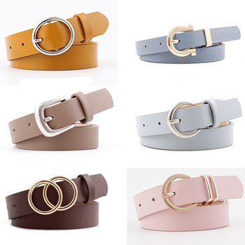 9 Styles New Women PU Leather Belt For Female Strap Casual All-match Ladies Adjustable Belts Designer High Quality Brand 2020