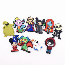 1 pièces belle Kull Jack bande dessinée Mickey bizarre peur monstres broches sac à dos robe décoration Badges enfants homme PVC étiquette broches(China)
