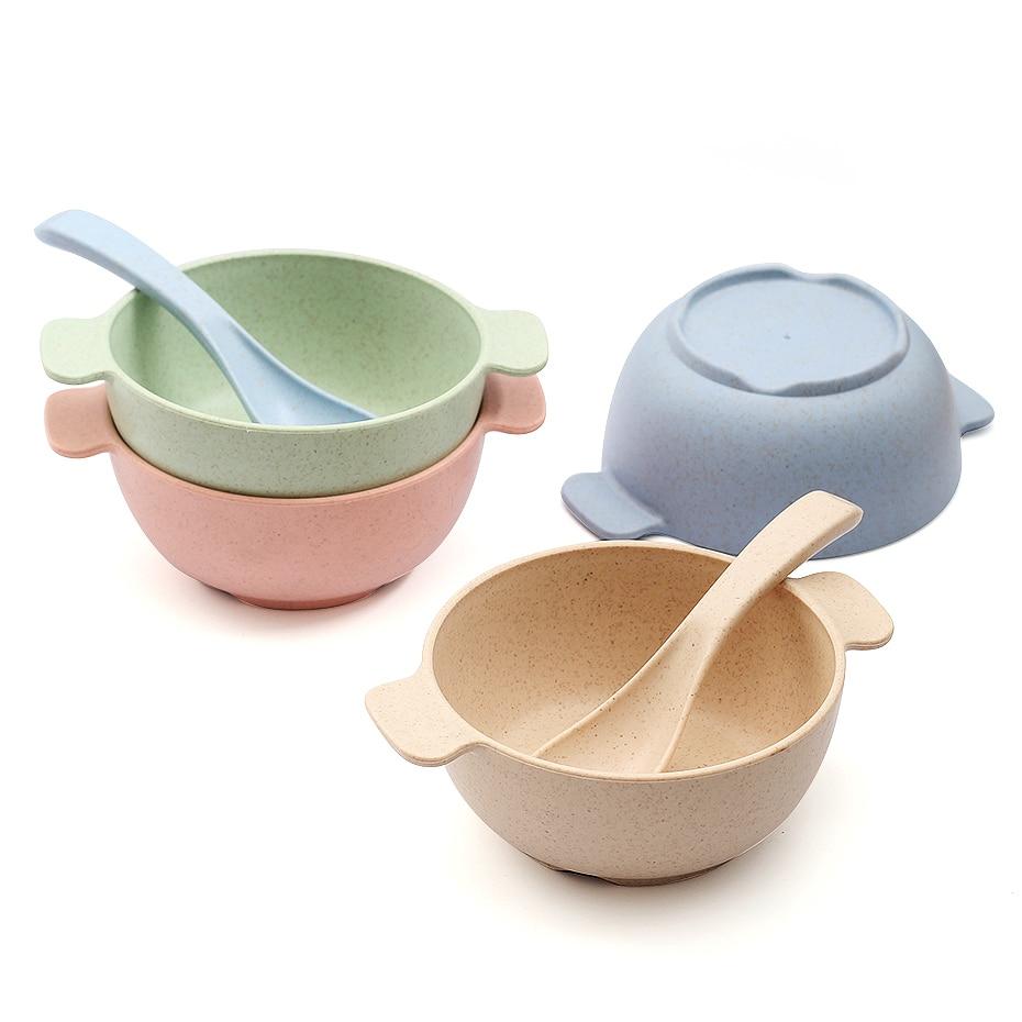 Baby Feeding Food Tableware, Children's Food, Environment-friendly Children's Training Tableware Bowl