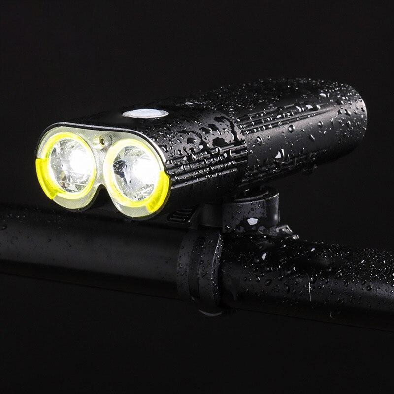 Профессиональный велосипедный светильник IPX6, водонепроницаемый, 1600 люменов, велосипедный внешний аккумулятор, Аксессуары для велосипеда, ... - 5