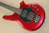 Factory store Active Pickup Musicman Bongo Candy red 4 String Music Man electric bass guitar guitarra