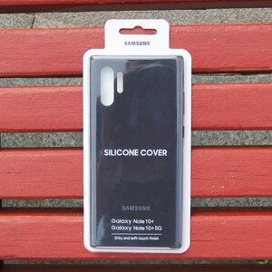 Image 5 - Официальный оригинальный силиконовый защитный чехол для Samsung Galaxy Note 10 Note10 NoteX Note 10 Plus мобильный телефон