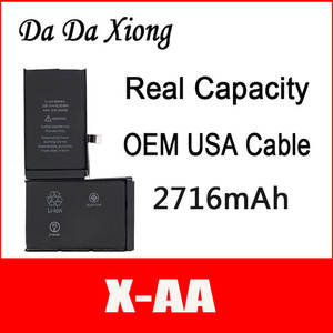 China 2716mah-Battery Zero-Cycle-Replacement iPhone DHL for X Repair-Parts X-AA Protection-Board