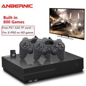 Image 1 - PS1 Video Console di Gioco 64Bit 4K HD Uscita HDMI Retro 800 Famiglia Classica Retro Giochi TV 32G XPRO joystick per il regalo quelli xbox