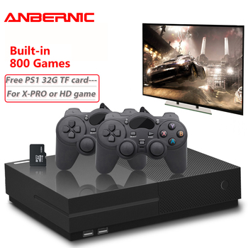 PS1 Video Game Console 64Bit 4K HD HDMI Output Retro 800 Classic Family Retro Games TV 32G XPRO joystick for gift xbox ones цена 2017