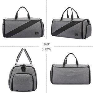 Image 3 - Çok fonksiyonlu yeni spor spor çanta spor taşınabilir erkek seyahat el çantası büyük takım elbise spor çantası eğitim Crossbody omuz çantaları
