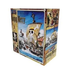 Image 5 - 9 รูปแบบอะนิเมะ One Piece Luffy Chopper Dracule Mihawk Merry Shanks PVC Action FIGURE รูปที่สะสมคริสต์มาสของขวัญของเล่น