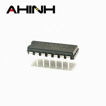 LM339N DIP14 אלקטרוני רכיב LM339 ic שבבי למכירה