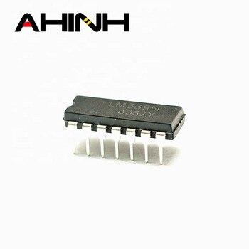Lm339n dip14 componente eletrônico lm339 ic chips para venda