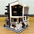 Создатель эксперт в виде улиц картинная галерея музей 3536 шт Мпц модульный конструкторных блоков, Детские кубики модель игрушки книжный маг...