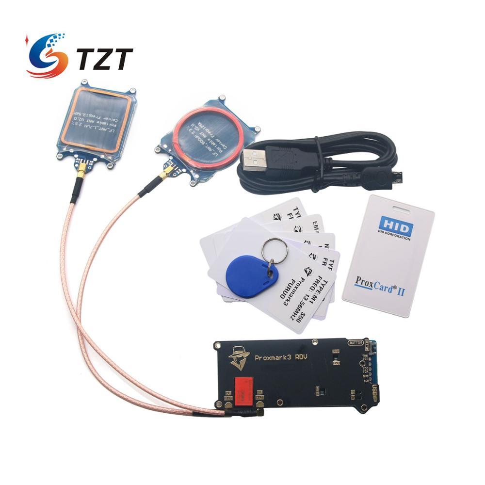 TZT ELECHOUSE Proxmark3 V2 DEV Kits RFID Programmer Cloner Duplicator Reader Writer UID T5577 NFC Copier Proxmark 3 Clone Duplic