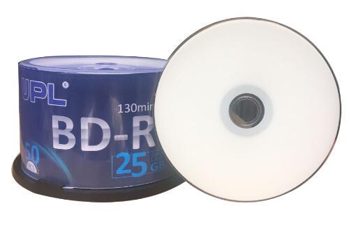 Free Shipping 6x BDR 25g Blu-ray Disc BD-R 25GB Blank Media 50pcs/lot