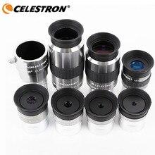 Celestron omni 4mm 6mm 9mm 12mm 15mm 32mm 40mm e 2x ocular e barlow lente totalmente multi-revestido telescópio de astronomia de metal