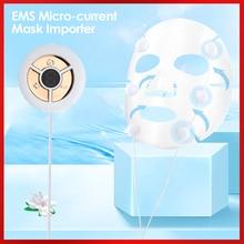 Microcurrents-Mask Lifting-Rejuvenation Anti-Wrinkles-Massager Facial-Skin Ems Face Beauty