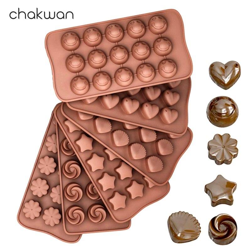 실리콘 초콜릿 바 금형 초콜릿 캔디 베이킹 금형 비 스틱 케이크 금형 DIY 젤리 퐁당 금형 케이크 장식 도구