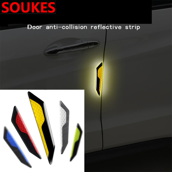 Car Door Bumper Fender Warning Anti-Scratch Sticker For BMW E46 E39 E90 E60 E36 F30 F10 E34 X5 E53 E30 F20 E92 E87 M3 M4 X3 X6 image