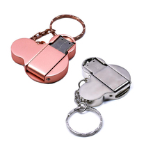 fashion USB flash drive 16GB 8GB 32GB 4GB 64GB 128GB silver metal pendrive flash memory stick pen drive usb stick hot sale wansenda metal usb flash drive waterproof pen drive 64gb 32gb usb stick 4gb 8gb 16gb pendrive external storage usb memory stick