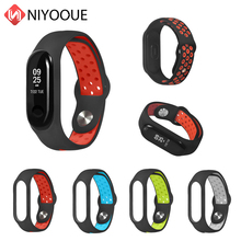 Replacement Wrist Strap For Mi Band 4 Strap Accessories For Xiaomi Mi Band 4/3 Sports Wristband Silicone Bracelet For Miband 3/4 multicolor for xiaomi mi band 3 strap replacement for xiaomi mi band 4 sports silicone wrist strap bracelet smart accessories