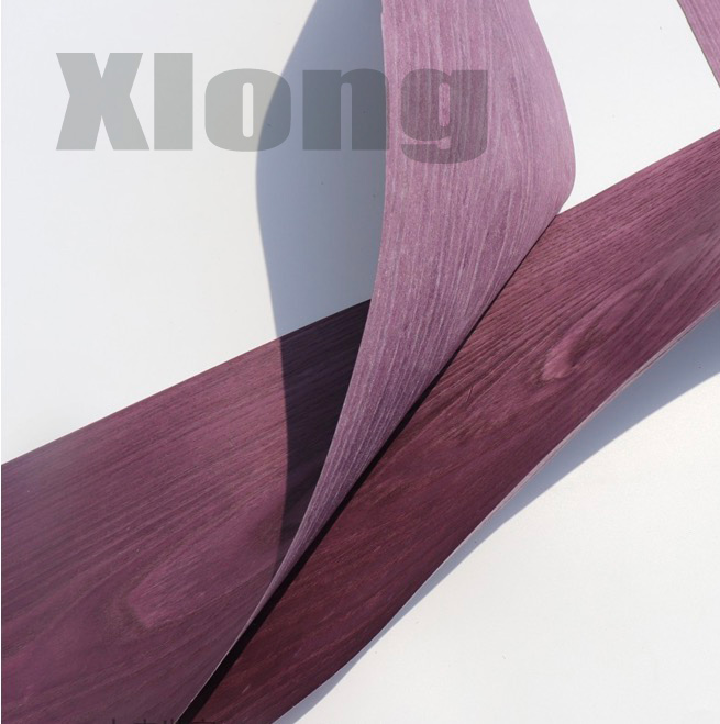 1Piece Length:2.5Meters Width:20mm Thickness:0.25mm Dyeing Purple Wood Veneer|Furniture Accessories|Furniture - title=