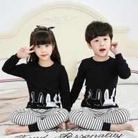 Bambini Pigiama Unicorn Bambini Degli Indumenti Da Notte Delle Ragazze Dei Ragazzi Pajamas Set di Cotone Abbigliamento Per Bambini Indumenti Da Letto Del Bambino Animale Pigiama Pigiama Del Bambino