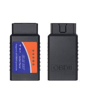 Image 4 - واي فاي OBD2 Elm327 التشخيص الماسحات الضوئية 18F25K80 رقاقة OBD رمز القارئ لرينو سوبارو كيا بنز مصغر ساب ألفا روميو