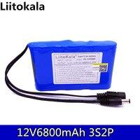HK Liitokala12 V 2200 mah 3000mah 4400mah 6800 mah 9800 mah 10ah 18650 Li-lon DC 12V Bateria Recarregavel de Super