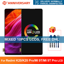 6.39 For Xiaomi MI 9T LCD 9T Pro Display Touch Screen Digitizer For Xiaomi Redmi K20 Pro LCD Screen K20 Replacement 10piece lot for xiaomi redmi k20 k20 pro case flip leather cases for xiaomi mi 9t mi 9t pro stand case pu leather cover