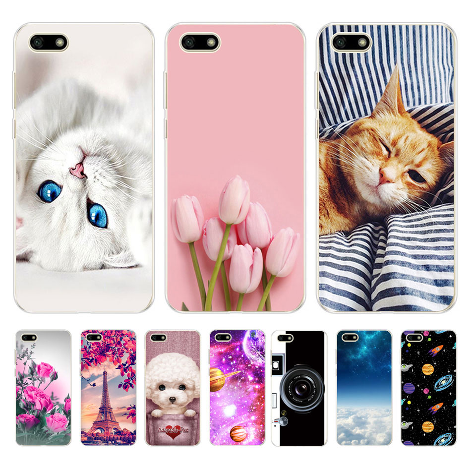 Case For <font><b>Huawei</b></font> Y5 Lite <font><b>2018</b></font> Soft TPU Coque <font><b>Huawei</b></font> Y5 <font><b>2018</b></font> Y5 Prime <font><b>2018</b></font> Phone Case Silicone Cover For <font><b>Funda</b></font> <font><b>Huawei</b></font> <font><b>Y</b></font> <font><b>5</b></font> 5Y <font><b>2018</b></font> image
