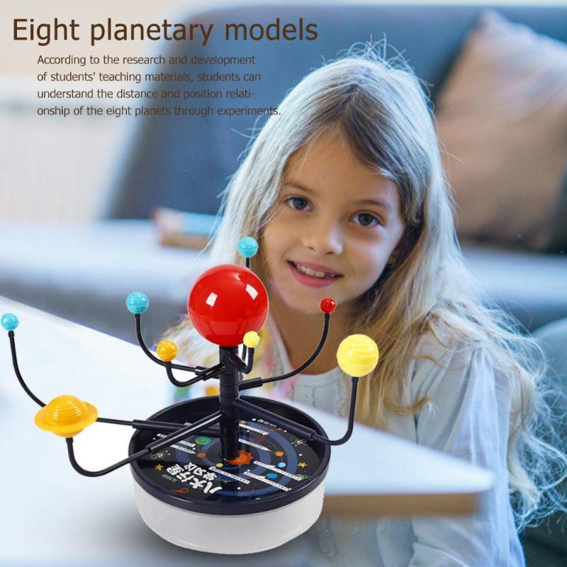 Hot Sale DIY Science Experiment Kits Delicate Design Eight Planets Science Experiment Discovery Amazing Assemble Educational Toy
