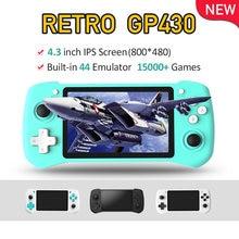 "Gp430 Ретро игровая консоль 43 ""ips экран hdmi выход raspberry"