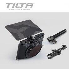Stokta Tiltaing tilta Mini mat kutu DSLR aynasız tarzı kameralar Tilta lens hood aksesuarları