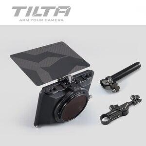 Image 1 - Stokta Tiltaing tilta Mini mat kutu DSLR aynasız tarzı kameralar Tilta lens hood aksesuarları