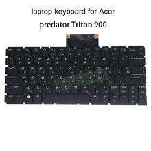 Replacement Keyboards Triton Acer Predator Light for Triton/900/Ru/Russian Black Backlit