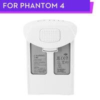Tüketici Elektroniği'ten Dron Pilleri'de Orijinal Phantom 4 pil P4 gelişmiş 4 Pro artı P4 serisi akıllı uçuş pil 5350mAh LiPo DJI Phantom serisi