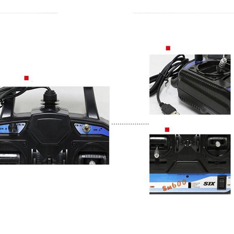 flysky rc simulator fs sm600 6ch usb simulator 03