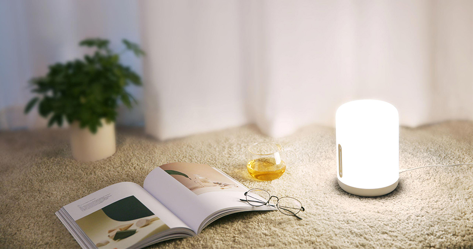 New Version Xiaomi Mijia Bedside Lamp 2 Smart Light voice control touch switch smart APP color adjustment For Apple Homekit Siri (9)
