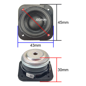 Image 2 - 1.5 Inch Full Range Speaker 4 Ohm 5W Neodymium Speaker Aluminum Tube Voice Coil Subwoofer For B&O Audio Speaker 70 5kHz 2pcs
